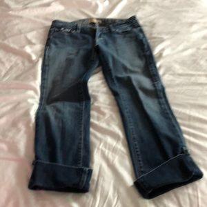 Paige denim- crop jean
